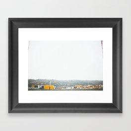 shipping I Framed Art Print