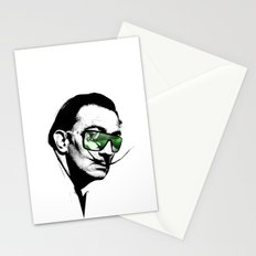 Dalì, what are you watching? Stationery Cards