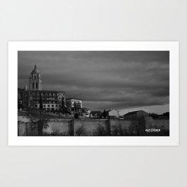 Segovia, España 2014 Art Print