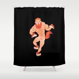 Ivo's Werewolf Shower Curtain
