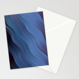 wavy lines pattern ml Stationery Cards