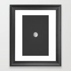 MOOON 1 Framed Art Print