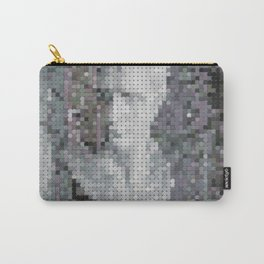 Monotone Bust Carry-All Pouch