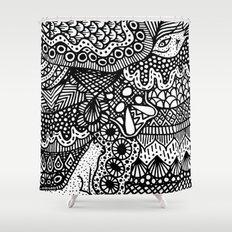 Doodle 13 Shower Curtain