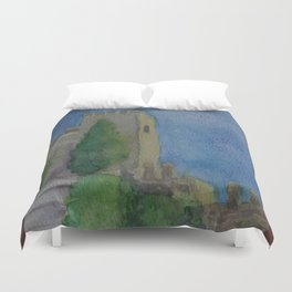 Alcazaba Tower WC151209m-14 Duvet Cover