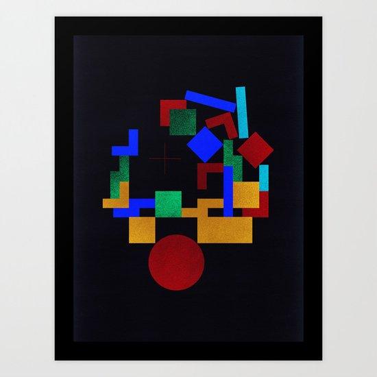 Assembly #1 Art Print