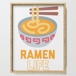 Ramen Life product Classic Anime Design for Students Serving Tray