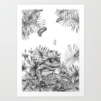 """The frog"" Art Print"
