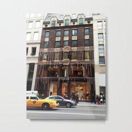 Fendi New York Metal Print