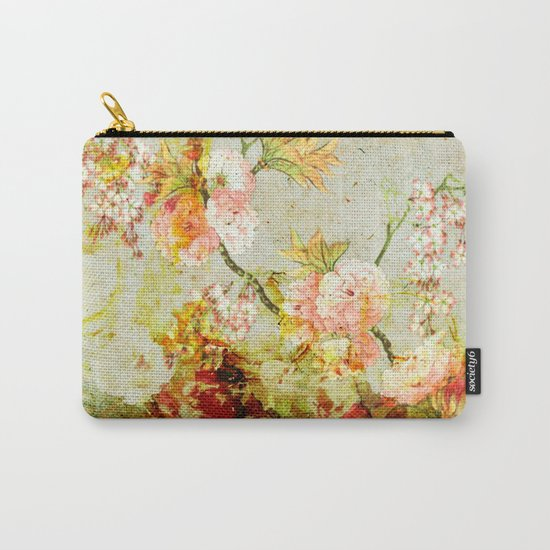 climbing flowers Carry-All Pouch