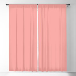 Solid Color - Pantone Candlelight Peach 15-1621 Blackout Curtain