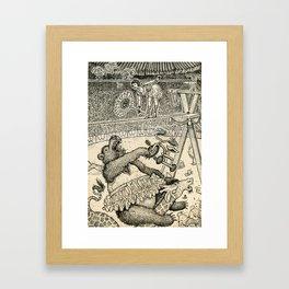 High Wire Framed Art Print