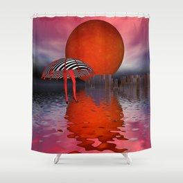 strange world - strange dimensions Shower Curtain