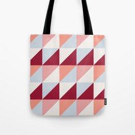 Trio (maroon) Tote Bag