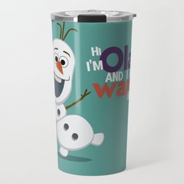 Olaf Travel Mug