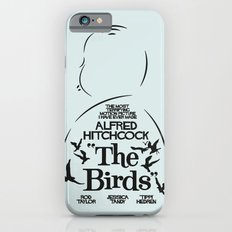 The Birds - Alfred Hitchcock Movie Poster iPhone 6s Slim Case