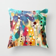 Mulberry Jane Throw Pillow