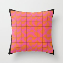 DS OrangeRed GROUP Throw Pillow