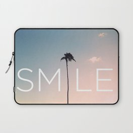 Palm tree Smile Laptop Sleeve