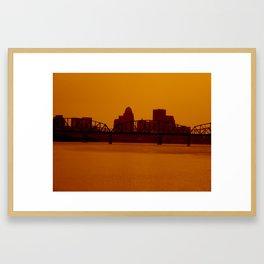 Take a step back.  Framed Art Print