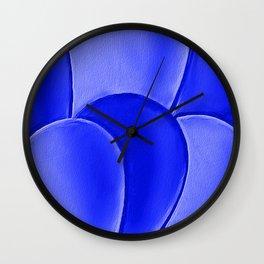 The Blue Eggs Wall Clock