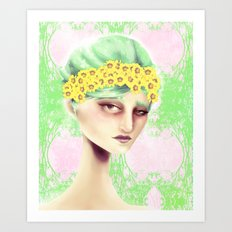 Flowers That Bloom Art Print