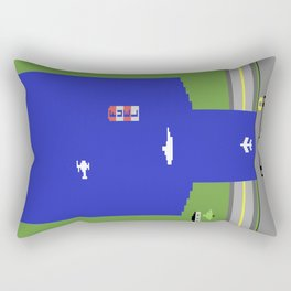 Lost 80s - Where is my River Raid? Rectangular Pillow