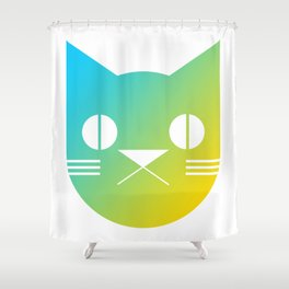 Icon Cat Shower Curtain