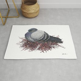 Rock Pigeon Rug