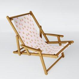 strawberry peach Sling Chair