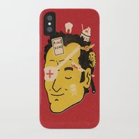 quentin tarantino iPhone & iPod Cases featuring Quentin by Derek Eads