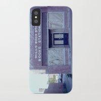regina mills iPhone & iPod Cases featuring Mills Bookstore by JoeHep