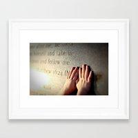 verse Framed Art Prints featuring Verse by Aubree42
