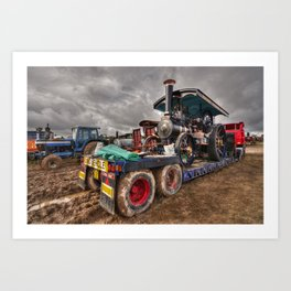 The Burrell Loader Art Print