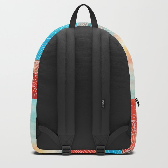 Lines in the mountains XX Backpack