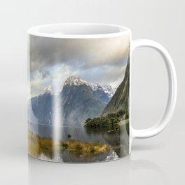 Mitre Peak, Milford Sound, New Zealand Coffee Mug