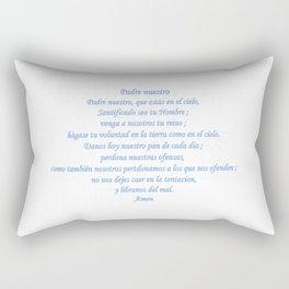 Padre nuestro Rectangular Pillow