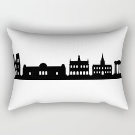 bruxelle skyline Rectangular Pillow