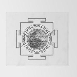 Triple Moon #buyart #buyartonline #sacred #geometry #society6 Throw Blanket