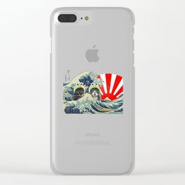 KeroNyan Kaiju Clear iPhone Case
