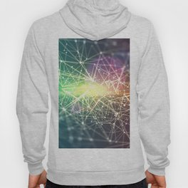 Colorful network Hoody