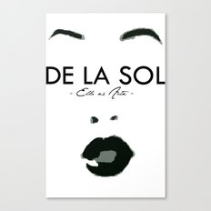 SOL SUPPORT TEE Canvas Print