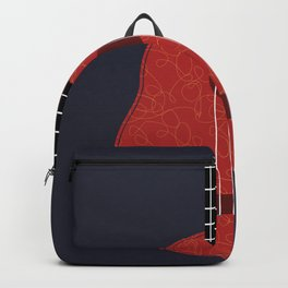 Ukulele Illustration Backpack