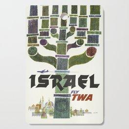 Vintage poster - Israel Cutting Board