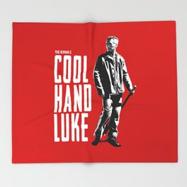 Paul Newman - Cool Hand Luke Throw Blanket
