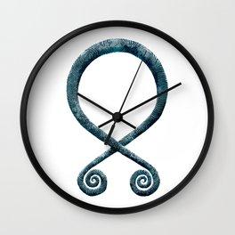 Troll Cross Wall Clock
