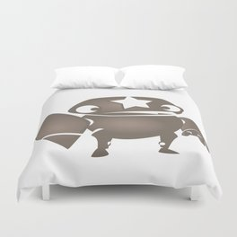 minima - slowbot 004 Duvet Cover