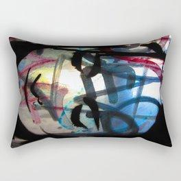 Graffiti Girl Rectangular Pillow