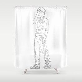Limits Shower Curtain