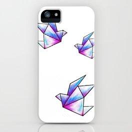Origami Pastels iPhone Case